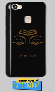 Vivo V7 Mobile Covers Cases Om Namaha Gold Black - Lowest Price - Paybydaddy.com