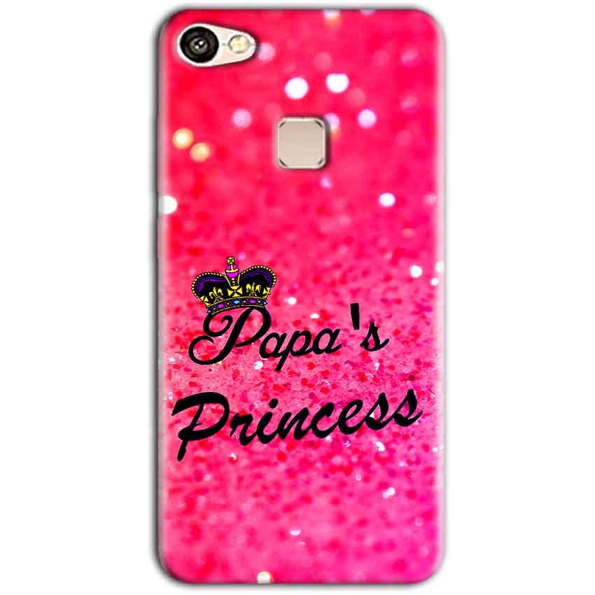 Vivo V7 Mobile Covers Cases PAPA PRINCESS - Lowest Price - Paybydaddy.com