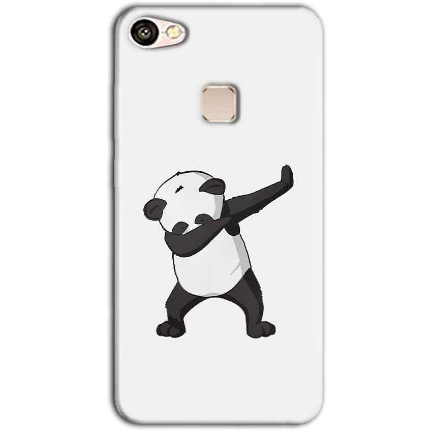 Vivo V7 Mobile Covers Cases Panda Dab - Lowest Price - Paybydaddy.com