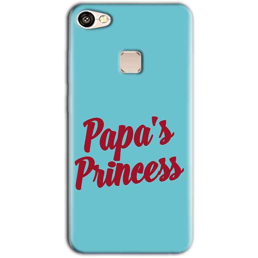 Vivo V7 Mobile Covers Cases Papas Princess - Lowest Price - Paybydaddy.com