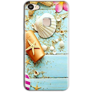 Vivo V7 Mobile Covers Cases Pearl Star Fish - Lowest Price - Paybydaddy.com