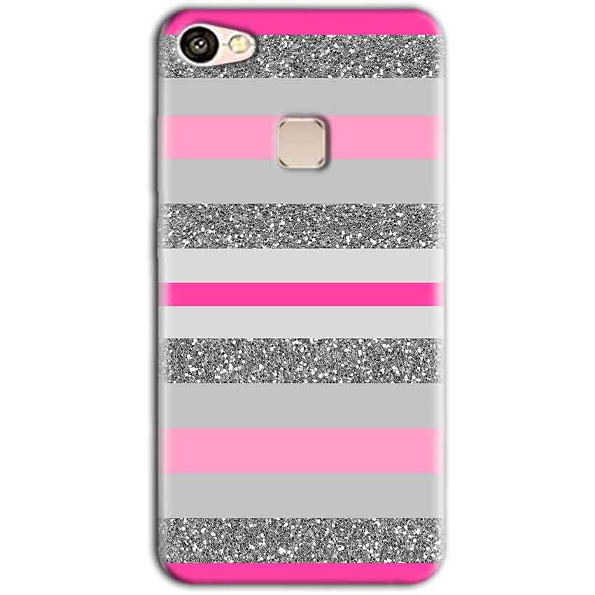 Vivo V7 Mobile Covers Cases Pink colour pattern - Lowest Price - Paybydaddy.com