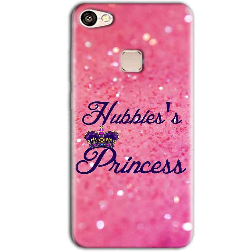Vivo V7 Plus Mobile Covers Cases Hubbies Princess - Lowest Price - Paybydaddy.com