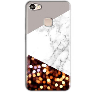 Vivo V7 Plus Mobile Covers Cases MARBEL GLITTER - Lowest Price - Paybydaddy.com