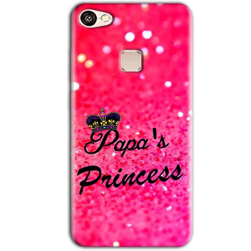Vivo V7 Plus Mobile Covers Cases PAPA PRINCESS - Lowest Price - Paybydaddy.com