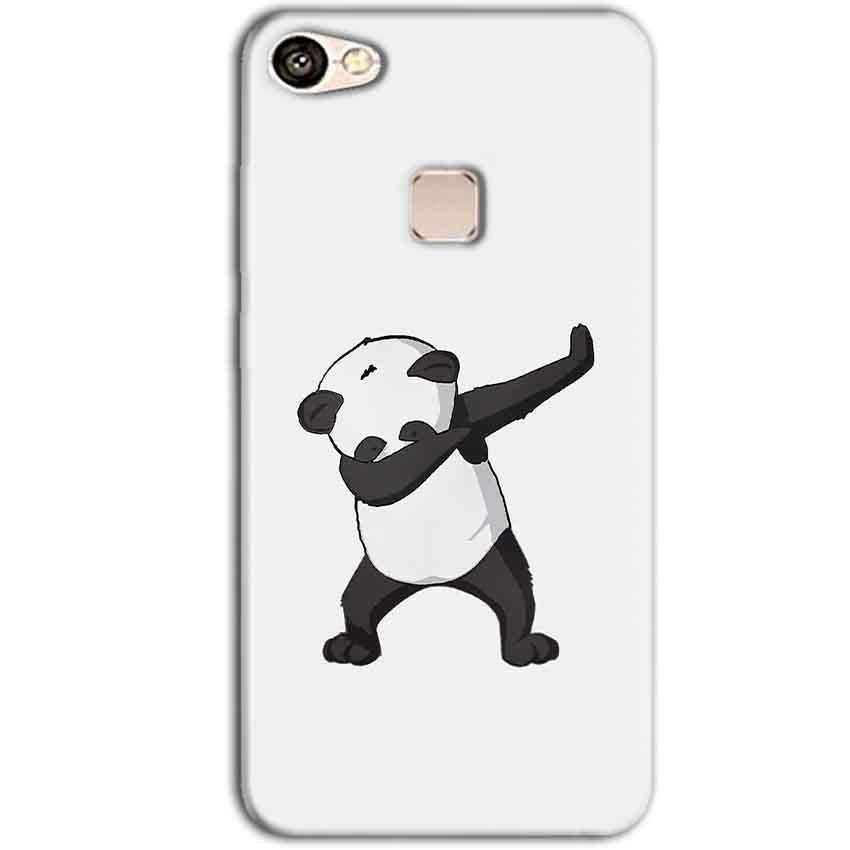 Vivo V7 Plus Mobile Covers Cases Panda Dab - Lowest Price - Paybydaddy.com