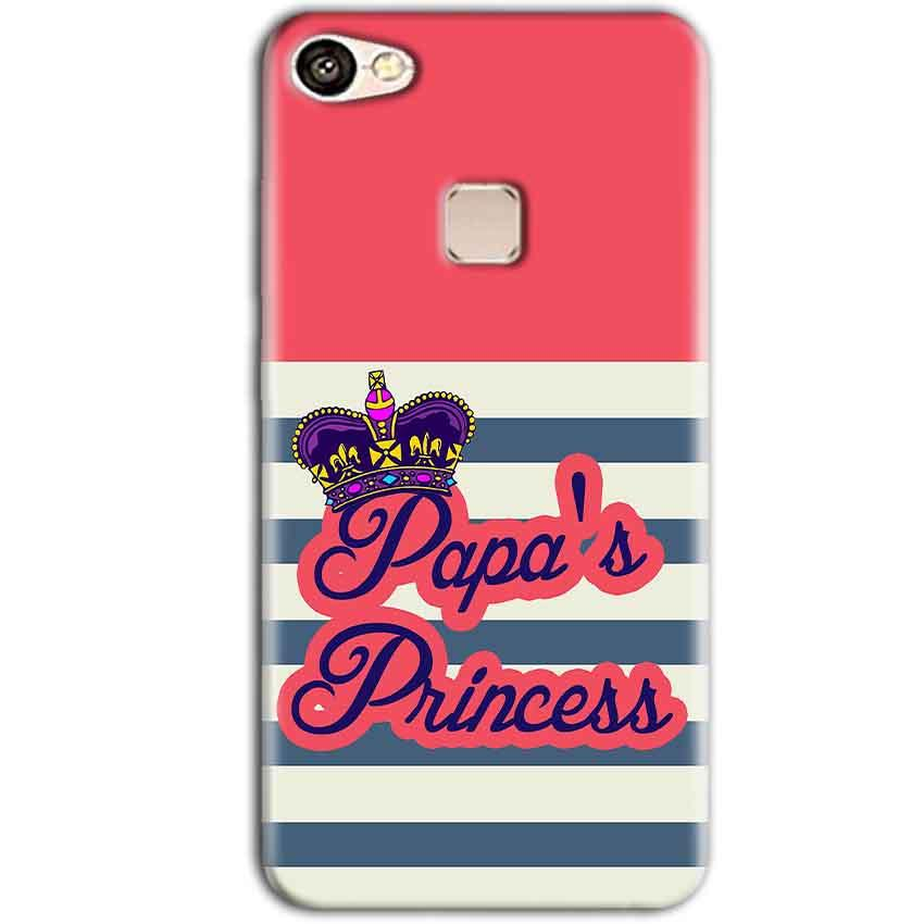 Vivo V7 Plus Mobile Covers Cases Papas Princess - Lowest Price - Paybydaddy.com