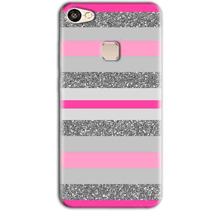 Vivo V7 Plus Mobile Covers Cases Pink colour pattern - Lowest Price - Paybydaddy.com