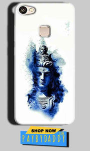 Vivo V7 Plus Mobile Covers Cases Shiva Blue White - Lowest Price - Paybydaddy.com
