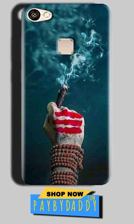 Vivo V7 Plus Mobile Covers Cases Shiva Hand With Clilam - Lowest Price - Paybydaddy.com