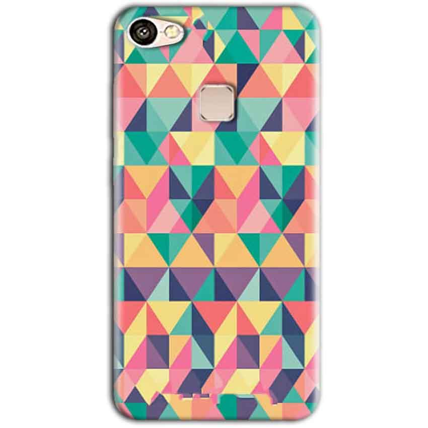 Vivo V7 Mobile Covers Cases Prisma coloured design - Lowest Price - Paybydaddy.com