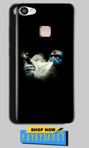 Vivo V7 Mobile Covers Cases Shiva Aghori Smoking - Lowest Price - Paybydaddy.com