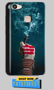 Vivo V7 Mobile Covers Cases Shiva Hand With Clilam - Lowest Price - Paybydaddy.com