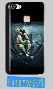 Vivo V7 Mobile Covers Cases Shiva Smoking - Lowest Price - Paybydaddy.com
