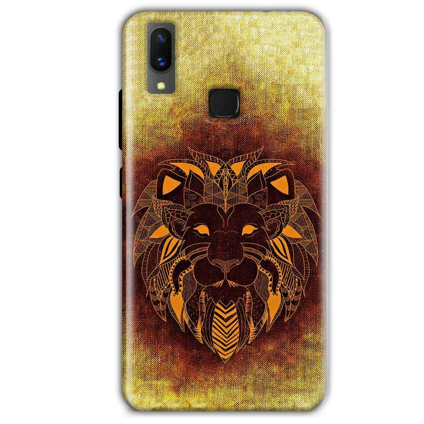Vivo X21 Mobile Covers Cases Lion face art - Lowest Price - Paybydaddy.com