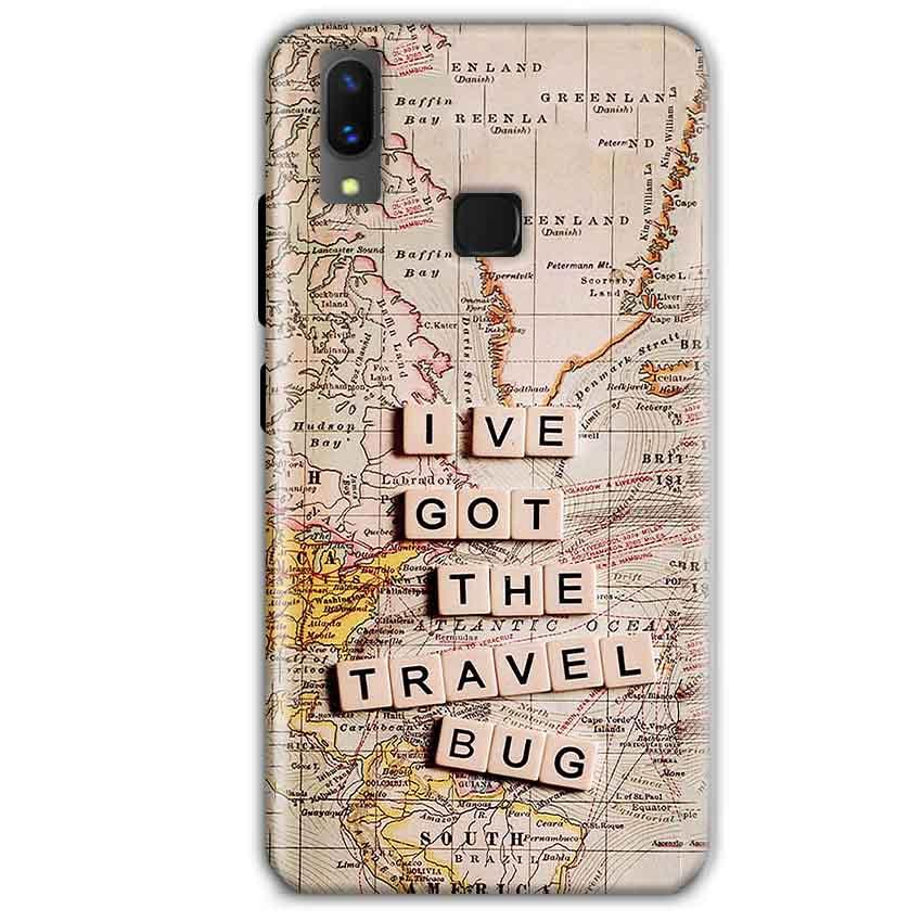 Vivo X21 Mobile Covers Cases Live Travel Bug - Lowest Price - Paybydaddy.com