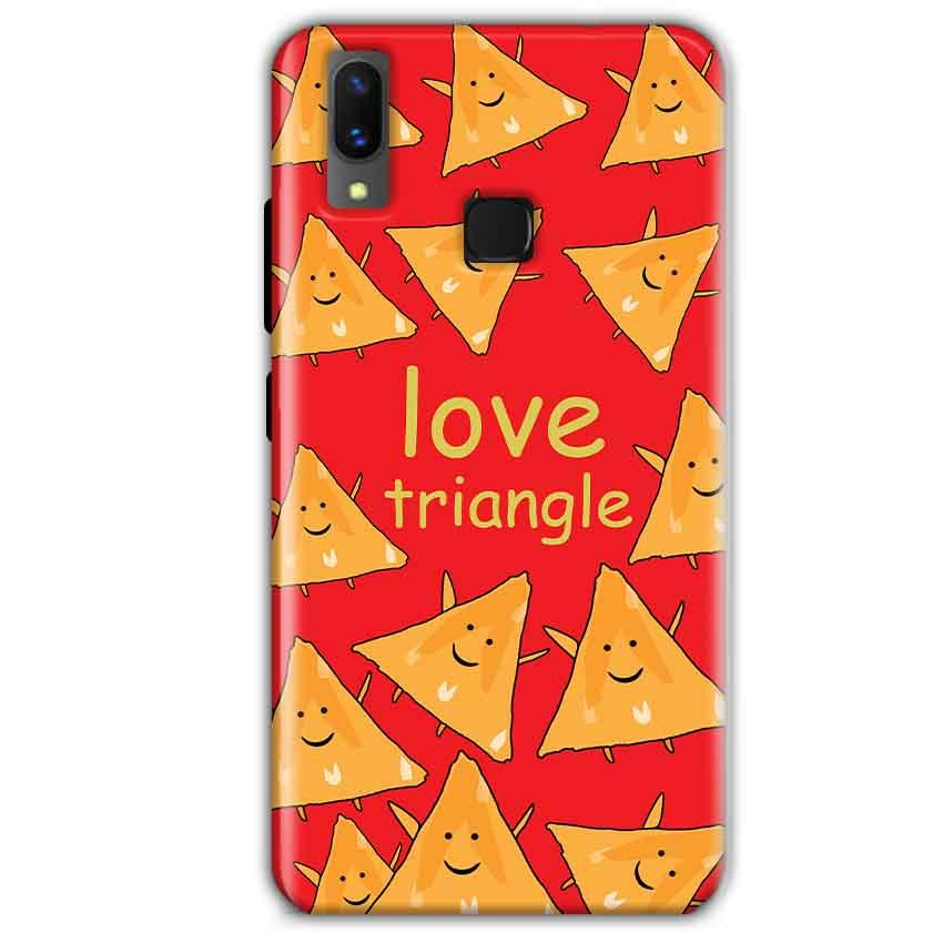 Vivo X21 Mobile Covers Cases Love Triangle - Lowest Price - Paybydaddy.com