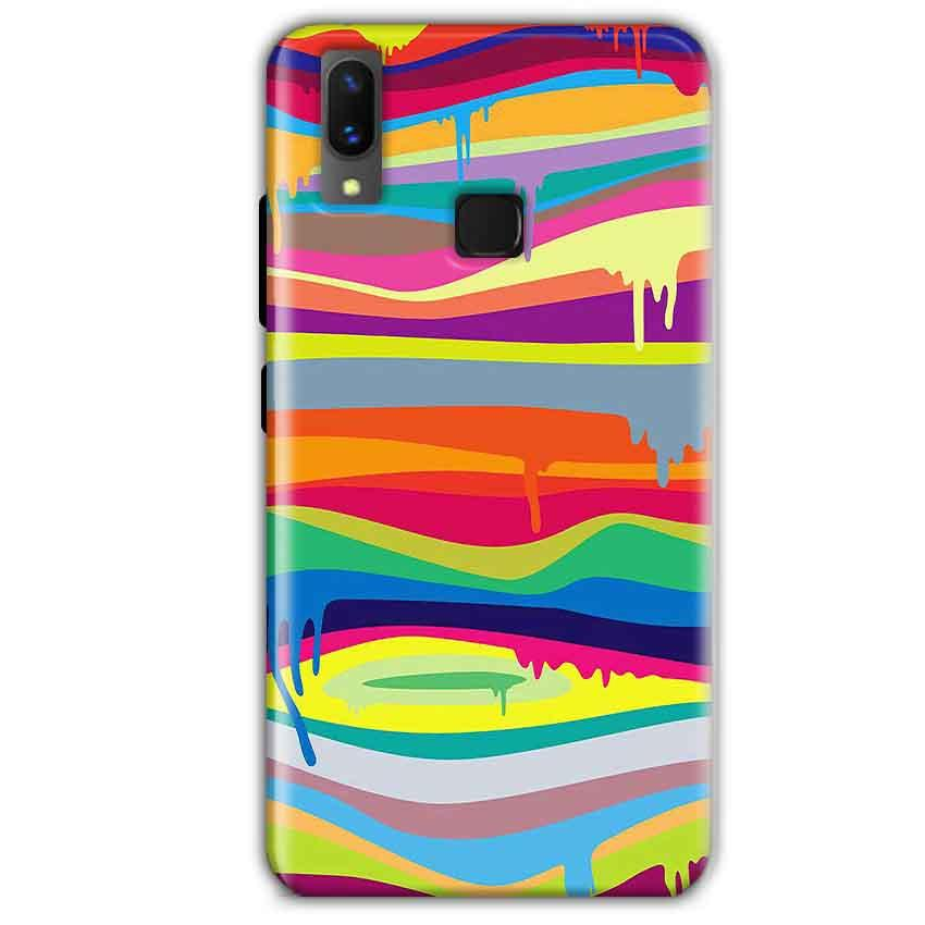 Vivo X21 Mobile Covers Cases Melted colours - Lowest Price - Paybydaddy.com