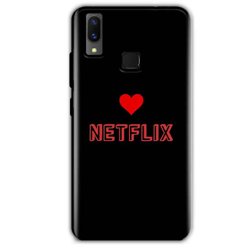 Vivo X21 Mobile Covers Cases NETFLIX WITH HEART - Lowest Price - Paybydaddy.com