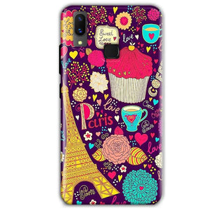 Vivo X21 Mobile Covers Cases Paris Sweet love - Lowest Price - Paybydaddy.com