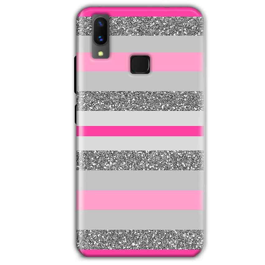 Vivo X21 Mobile Covers Cases Pink colour pattern - Lowest Price - Paybydaddy.com