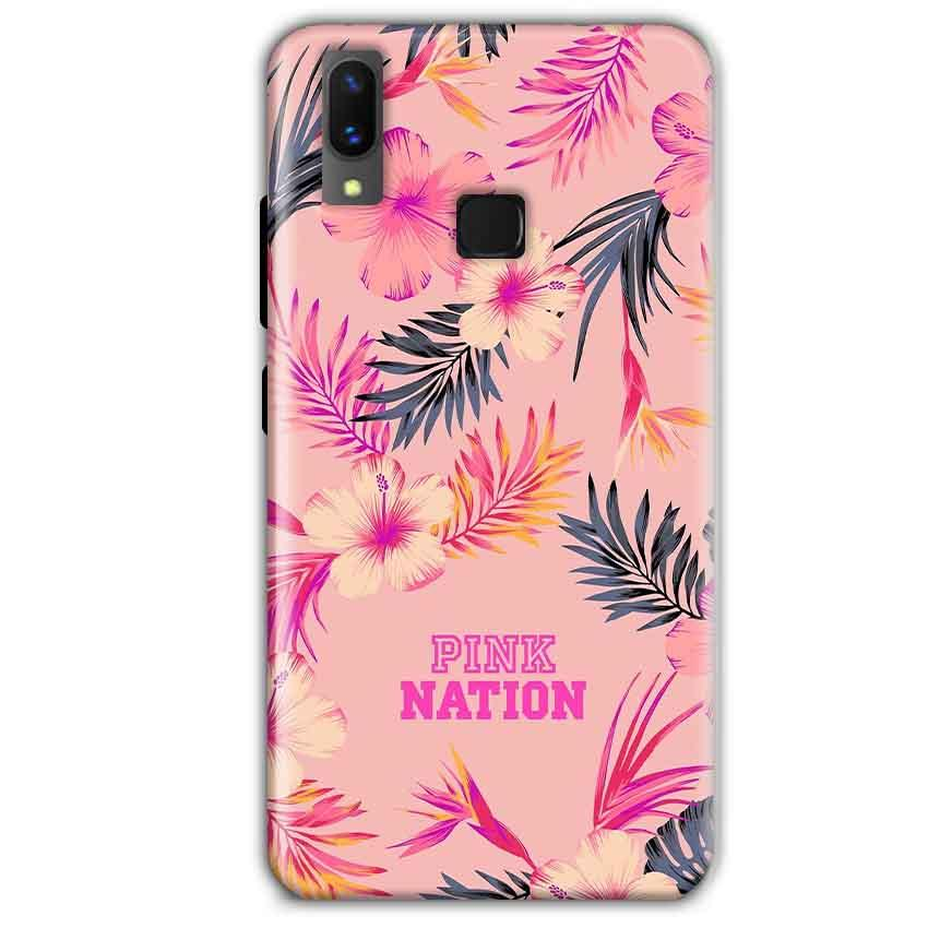 Vivo X21 Mobile Covers Cases Pink nation - Lowest Price - Paybydaddy.com