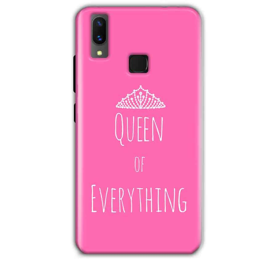 Vivo X21 Mobile Covers Cases Queen Of Everything Pink White - Lowest Price - Paybydaddy.com