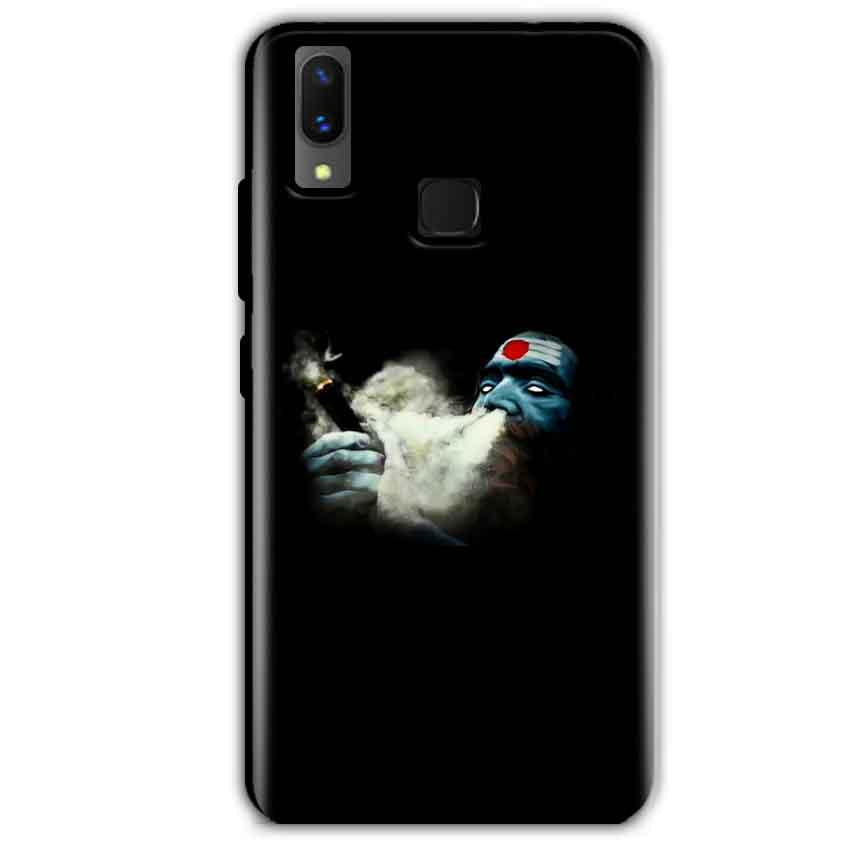 Vivo X21 Mobile Covers Cases Shiva Aghori Smoking - Lowest Price - Paybydaddy.com