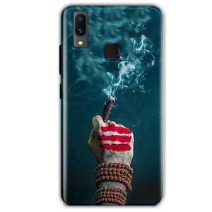 Vivo X21 Mobile Covers Cases Shiva Hand With Clilam - Lowest Price - Paybydaddy.com