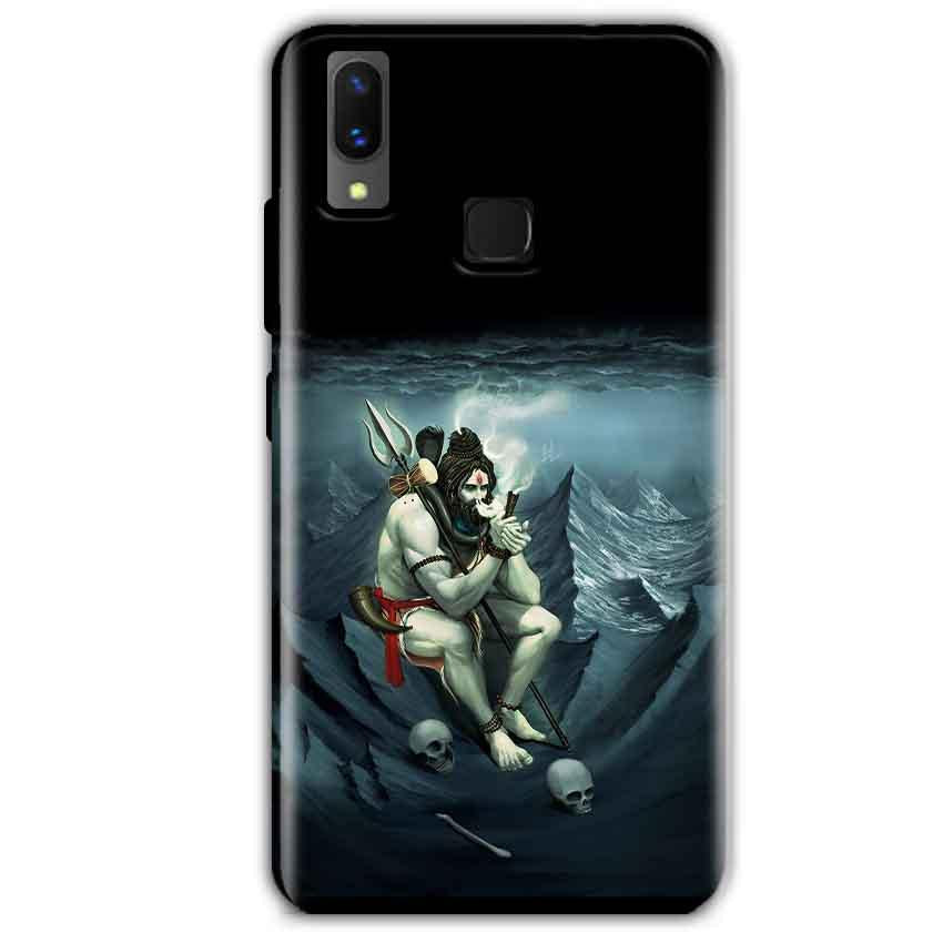Vivo X21 Mobile Covers Cases Shiva Smoking - Lowest Price - Paybydaddy.com