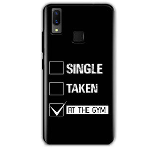 Vivo X21 Mobile Covers Cases Single Taken At The Gym - Lowest Price - Paybydaddy.com