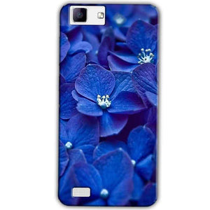 Vivo X5Max Mobile Covers Cases Blue flower - Lowest Price - Paybydaddy.com