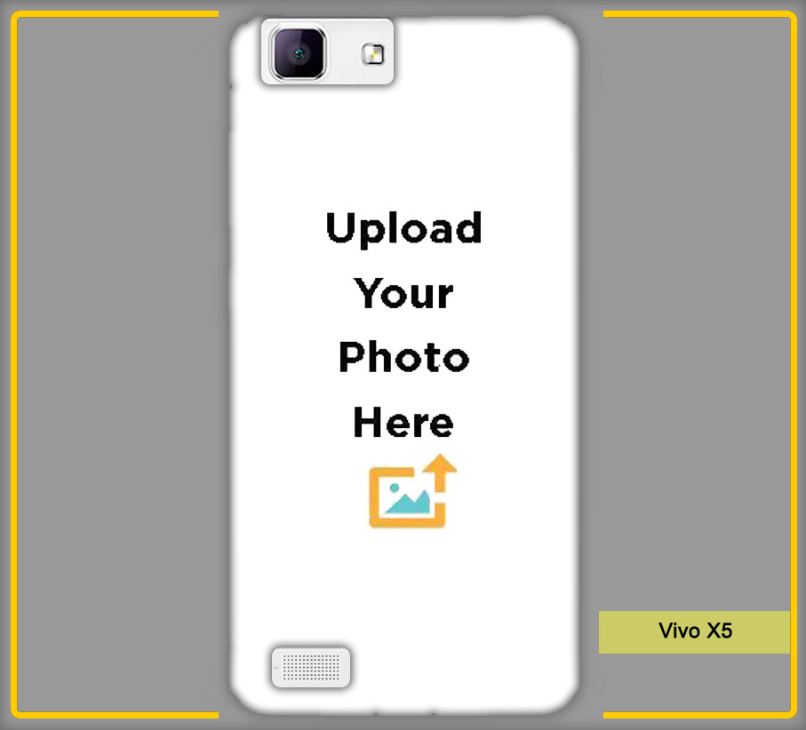 Customized Vivo X5 Back Back Cover with your Photos & Text Online in India | Create & Design Your Own Vivo X5 Back Mobile Back Cover at Paybydaddy a Genuine Product A Best Price A Fast Delivery.