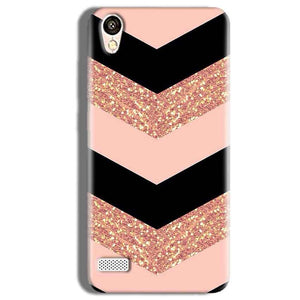 Vivo Y11 Mobile Covers Cases Black down arrow Pattern - Lowest Price - Paybydaddy.com