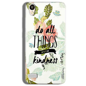 Vivo Y11 Mobile Covers Cases Do all things with kindness - Lowest Price - Paybydaddy.com
