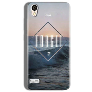 Vivo Y11 Mobile Covers Cases Forget Quote Something Different - Lowest Price - Paybydaddy.com