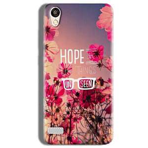 Vivo Y11 Mobile Covers Cases Hope in the Things Unseen- Lowest Price - Paybydaddy.com