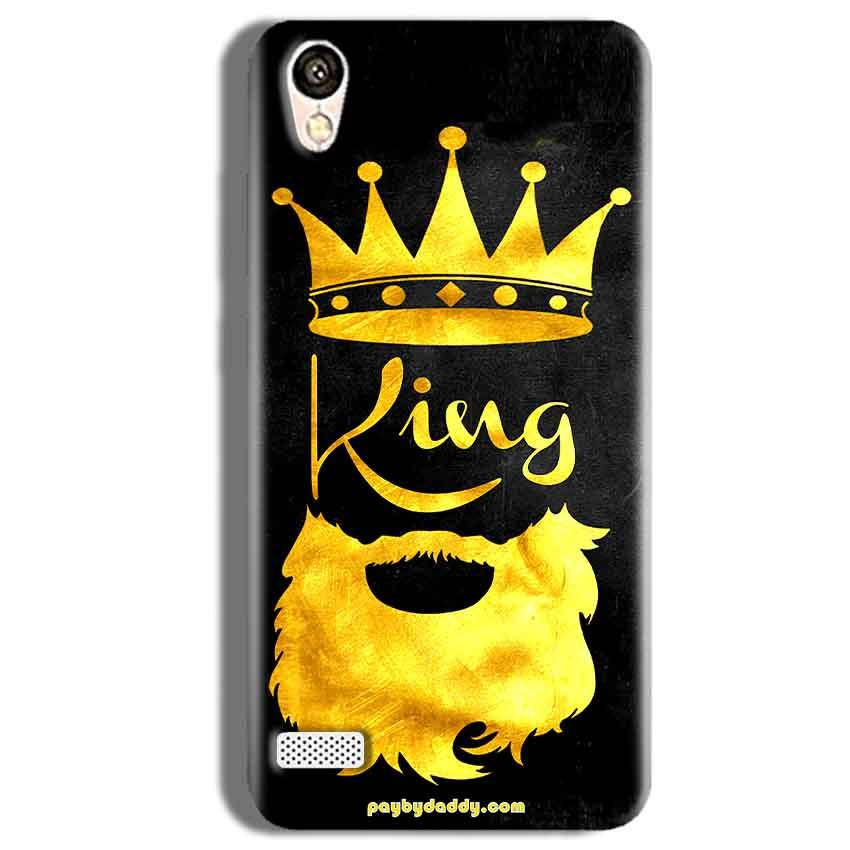 Vivo Y11 Mobile Covers Cases King with beard - Lowest Price - Paybydaddy.com