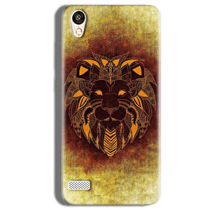 Vivo Y11 Mobile Covers Cases Lion face art - Lowest Price - Paybydaddy.com