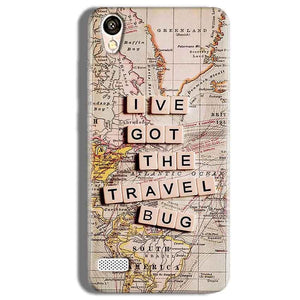 Vivo Y11 Mobile Covers Cases Live Travel Bug - Lowest Price - Paybydaddy.com