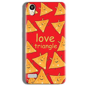 Vivo Y11 Mobile Covers Cases Love Triangle - Lowest Price - Paybydaddy.com