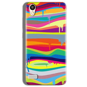 Vivo Y11 Mobile Covers Cases Melted colours - Lowest Price - Paybydaddy.com