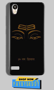 Vivo Y11 Mobile Covers Cases Om Namaha Gold Black - Lowest Price - Paybydaddy.com