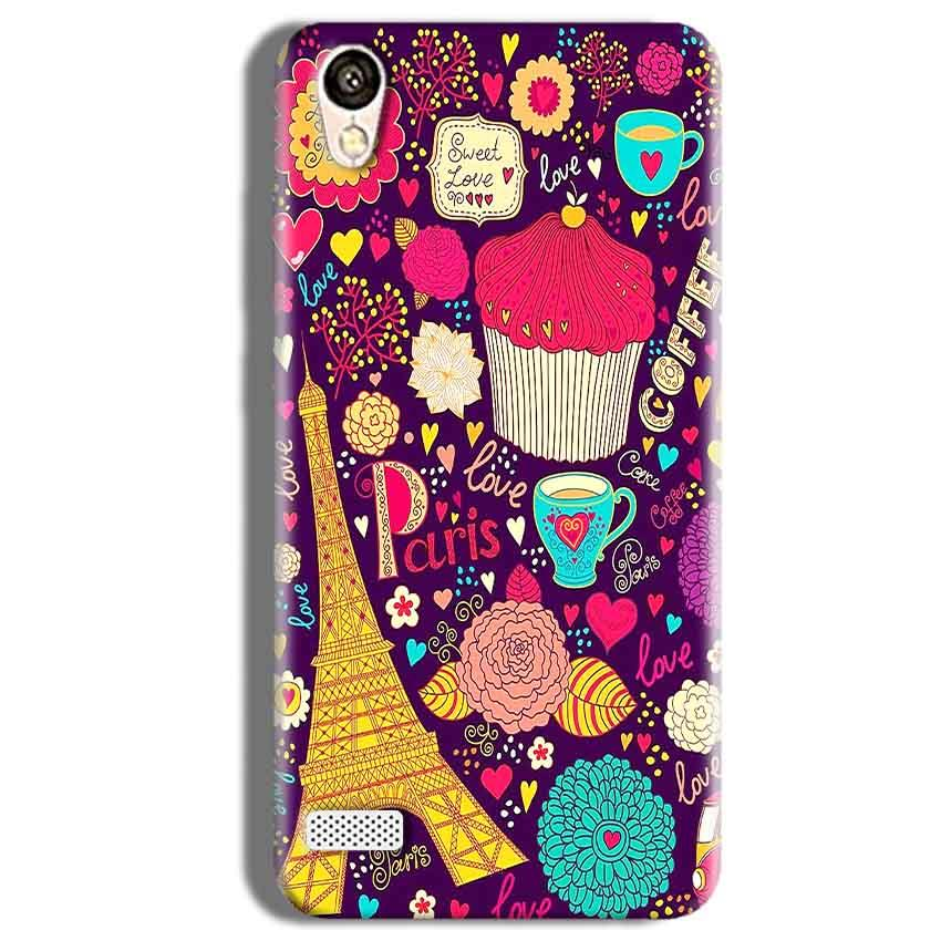 Vivo Y11 Mobile Covers Cases Paris Sweet love - Lowest Price - Paybydaddy.com