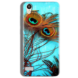 Vivo Y11 Mobile Covers Cases Peacock blue wings - Lowest Price - Paybydaddy.com