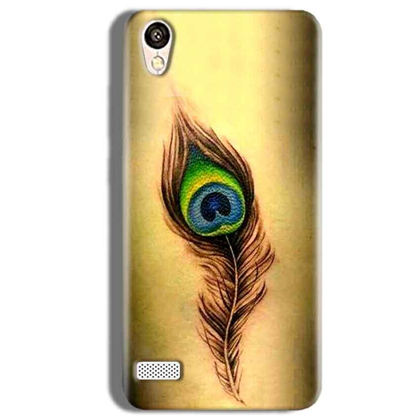 Vivo Y11 Mobile Covers Cases Peacock coloured art - Lowest Price - Paybydaddy.com