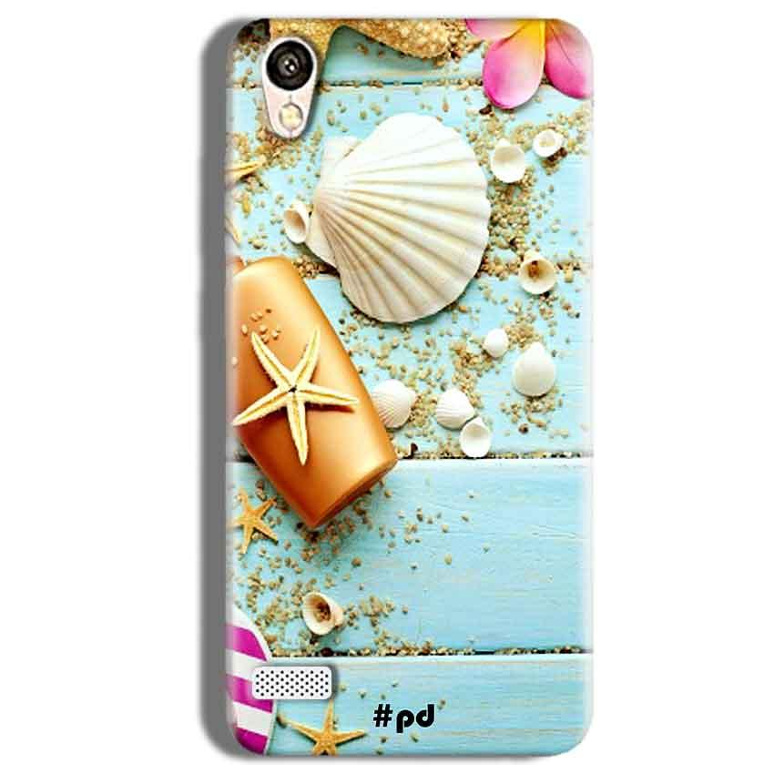 Vivo Y11 Mobile Covers Cases Pearl Star Fish - Lowest Price - Paybydaddy.com