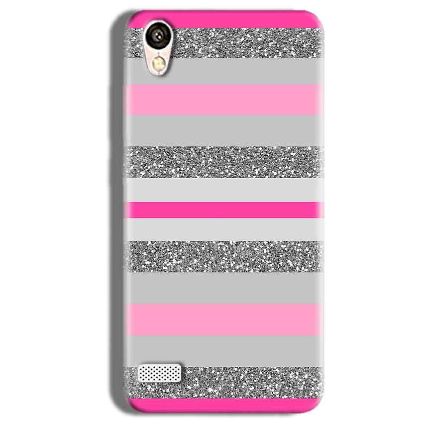 Vivo Y11 Mobile Covers Cases Pink colour pattern - Lowest Price - Paybydaddy.com