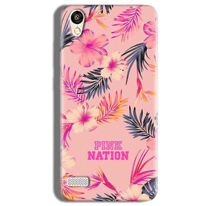 Vivo Y11 Mobile Covers Cases Pink nation - Lowest Price - Paybydaddy.com