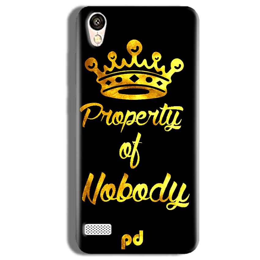 Vivo Y11 Mobile Covers Cases Property of nobody with Crown - Lowest Price - Paybydaddy.com